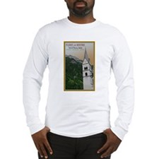 Val di Fleres Church Long Sleeve T-Shirt