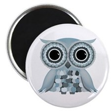 Little Blue Owl Magnet