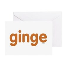 Ginge Greeting Card