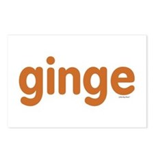 Ginge Postcards (Package of 8)