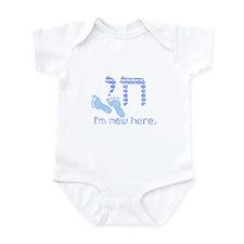 Chai, I'm new here! Infant Bodysuit