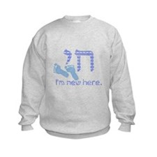 Chai, I'm new here! Sweatshirt