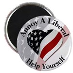Annoy A Liberal Magnet