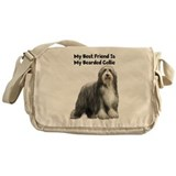 Bearded Collie Messenger Bag