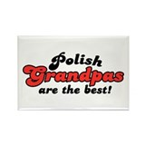 Polish Grandpas Rectangle Magnet