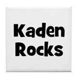 Kaden Rocks Tile Coaster