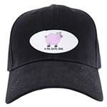 A Pig Says Oink Black Cap