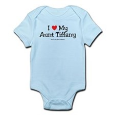 I Love Aunty Tiffany Infant Bodysuit