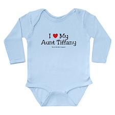I Love Aunty Tiffany Long Sleeve Infant Bodysuit