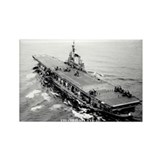 USS CORAL SEA Rectangle Magnet