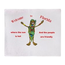 Funny All kinds Throw Blanket