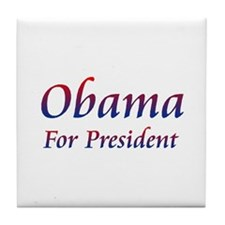 Obama for President Tile Coaster