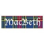 Tartan - MacBeth Sticker (Bumper 10 pk)