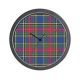 Tartan - MacBeth Wall Clock