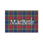 Tartan - MacBeth Rectangle Magnet (100 pack)