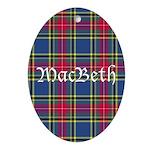 Tartan - MacBeth Ornament (Oval)