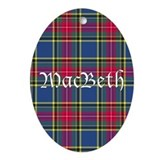 Tartan - MacBeth Ornament (Oval)
