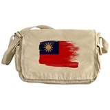 Taiwan Flag Messenger Bag