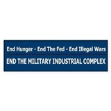 End Illegal Wars - Bumper Sticker