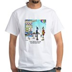 Human Free Work Place White T-Shirt