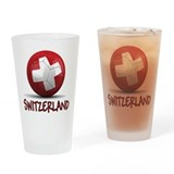 Team Switzerland Drinking Glass