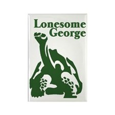 Lonesome George Rectangle Magnet