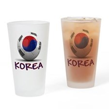 Team South Korea Drinking Glass