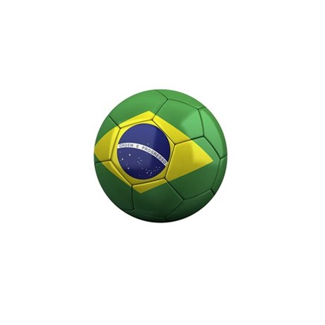 Team Brazil Mini Button