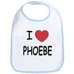I heart phoebe Bib