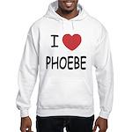 I heart phoebe Hooded Sweatshirt