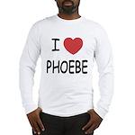 I heart phoebe Long Sleeve T-Shirt