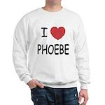 I heart phoebe Sweatshirt