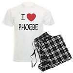 I heart phoebe Men's Light Pajamas