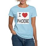 I heart phoebe Women's Light T-Shirt