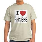I heart phoebe Light T-Shirt