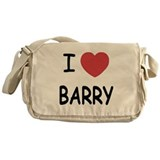 I heart barry Messenger Bag