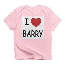 I heart barry Infant T-Shirt