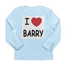 I heart barry Long Sleeve Infant T-Shirt
