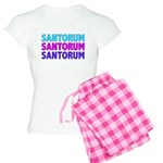 Rick Santorum Purple & Teal Women's Light Pajamas