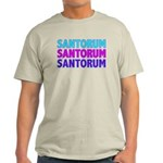 Rick Santorum Purple & Teal Light T-Shirt