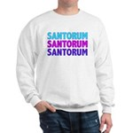 Rick Santorum Purple & Teal Sweatshirt