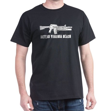 Defend Virginia Beach Black T-Shirt