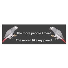 For The Birds Bumper Bumper Sticker