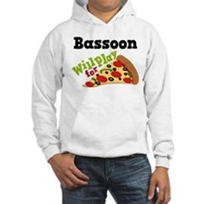 Bassoon Play For Pizza Hooded Sweatshirt