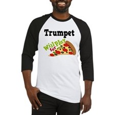 Trumpet Play For Pizza Baseball Jersey