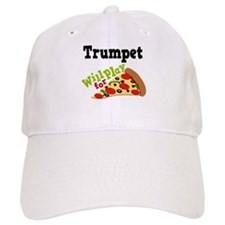 Trumpet Play For Pizza Cap