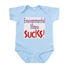 Environmental Illness Sucks! Infant Creeper