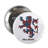 "Lion - MacBeth 2.25"" Button (100 pack)"