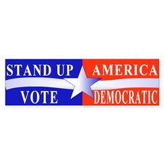 Stand Up America Bumper Sticker