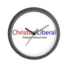 Christian Liberal Wall Clock